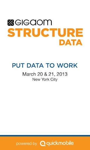 GigaOM Structure:Data 2013