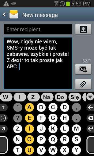 Polski słownik dla Dextr