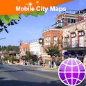 Fayetteville, Rogers, AR, Map logo