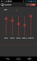Screenshot of Audio Player