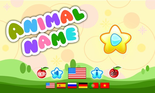 Game for kids: Animals name