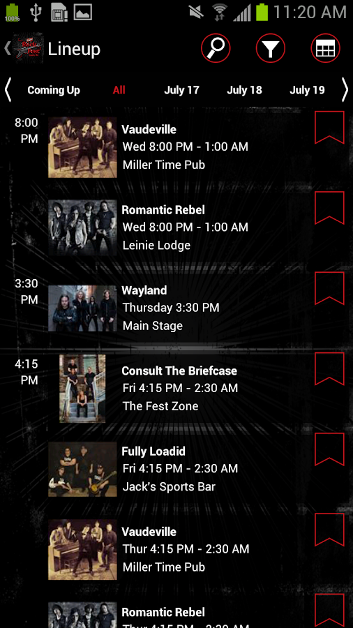 Rock Fest ~ Cadott, WI - screenshot