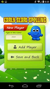 Early Start Spelling 5 Yrs Pt1