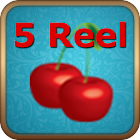 Five Reel Slot Machine icon