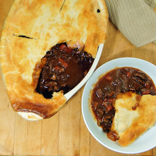 Beef and Mushroom Pot Pie.