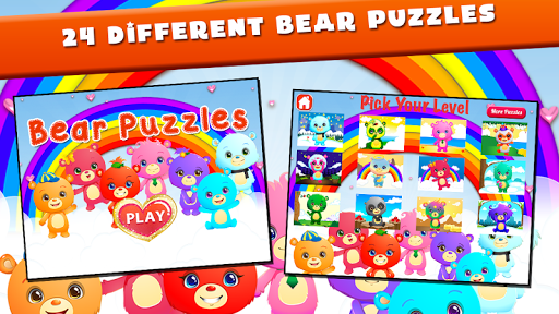 Little Kids Puzzles: Bears