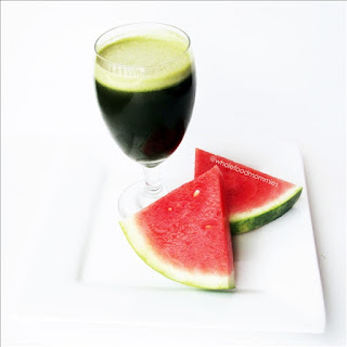Watermelon Green Juice