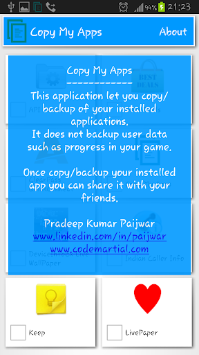 App Saver - APK backup tool