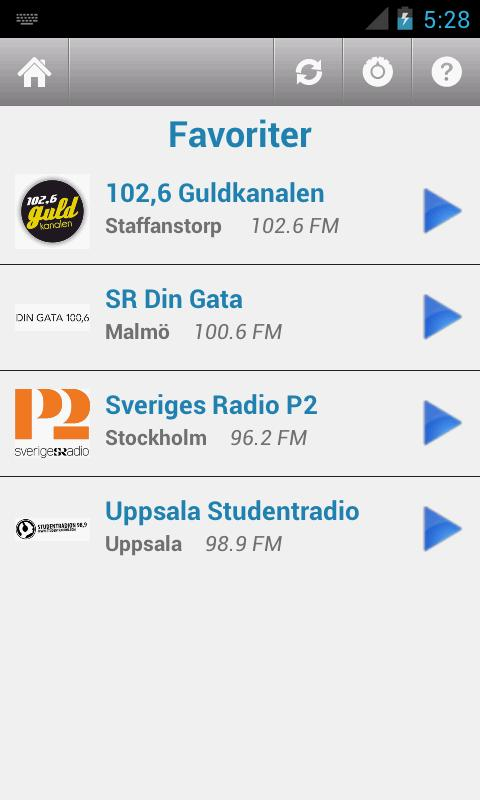 Svensk Radio (Sweden)- screenshot