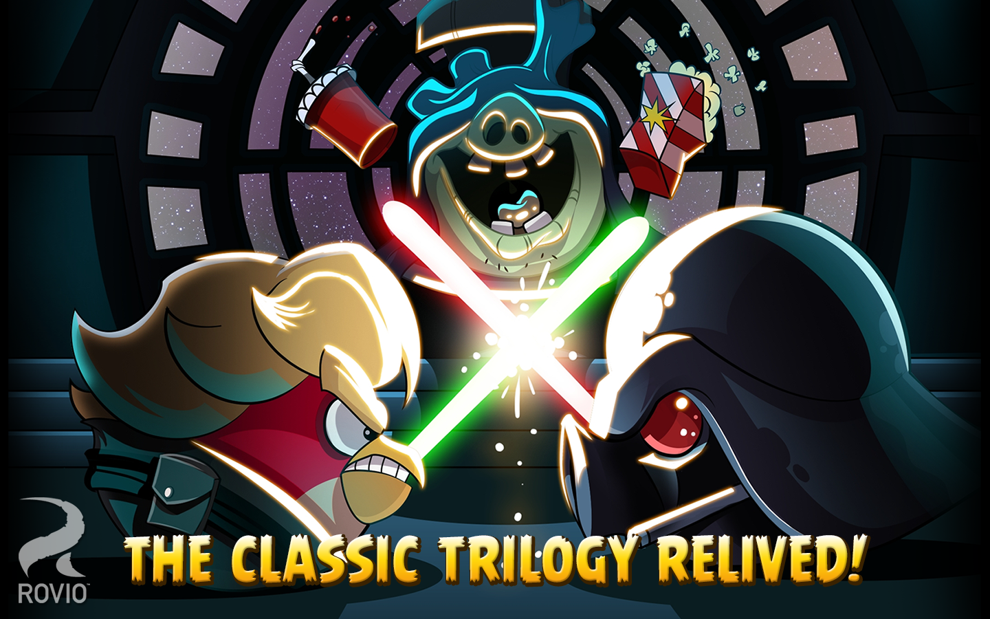 Angry Birds Star Wars screenshot #8