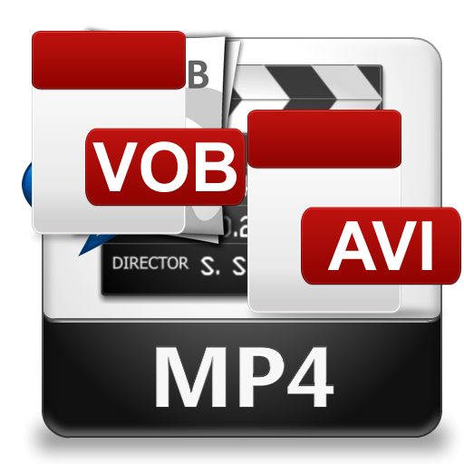 CONVERT VOB TO MP4, AVI