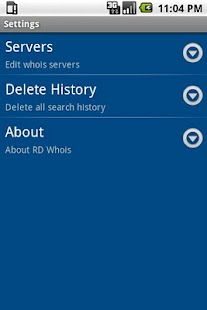 RD Whois- screenshot thumbnail