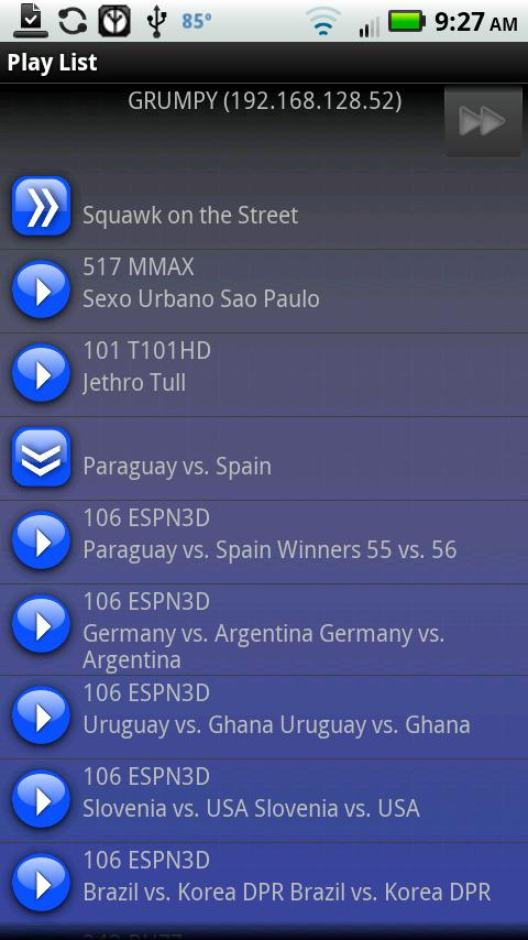 DirectDroid for DIRECTV - screenshot