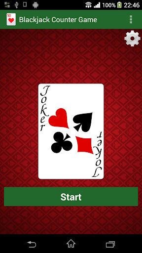 Blackjack Hi-Lo Counter Game