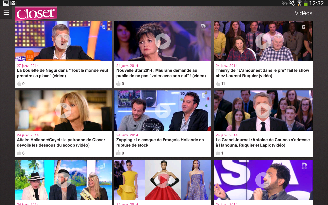 Closer - News People en Live - screenshot