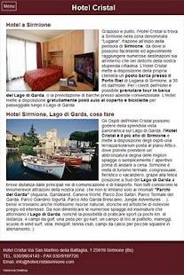 Hotel Cristal - Sirmione- screenshot thumbnail