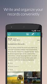 Diaro - diary, journal, notes Screenshot 2