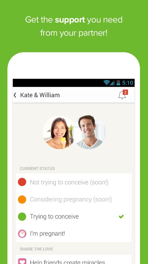 Glow Fertility & Ovulation - screenshot
