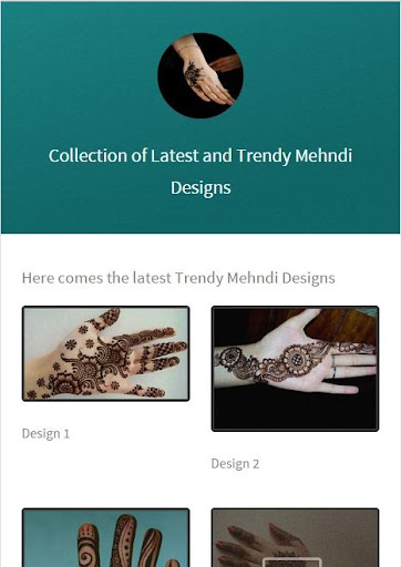 Mehndi Designs New 2015