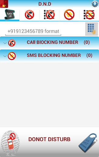 CALL SMS BLOCKER