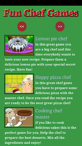 Fun Chef games