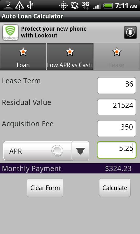 Best Auto Loan Calculator App