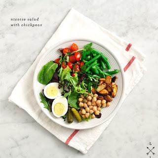 Chickpea Nicoise Salad