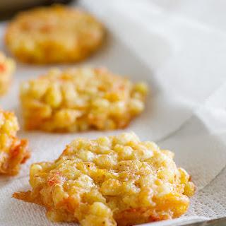 Cheddar Corn Fritters.