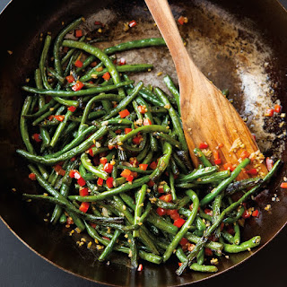Dry-Fried Long Beans