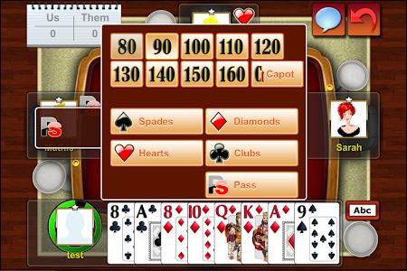 Belote Online Multiplayer beta 1.0.3 screenshot 359774