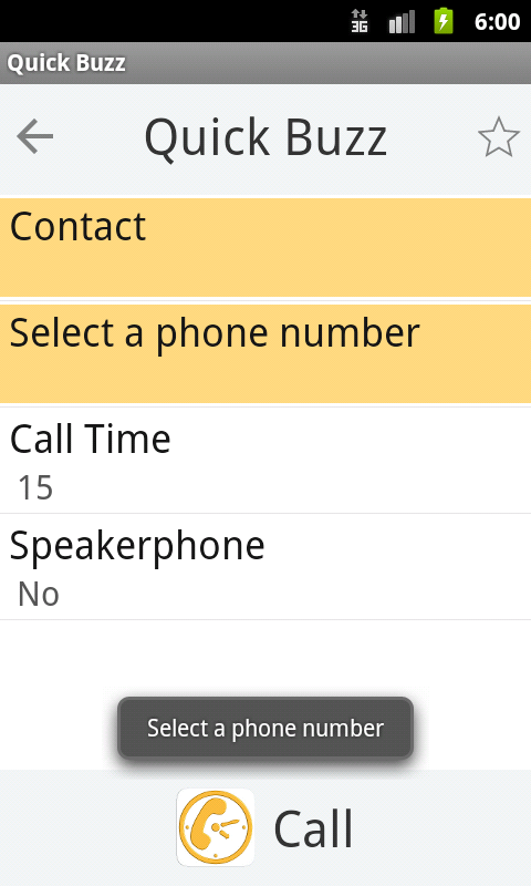 Buzz Ring- screenshot