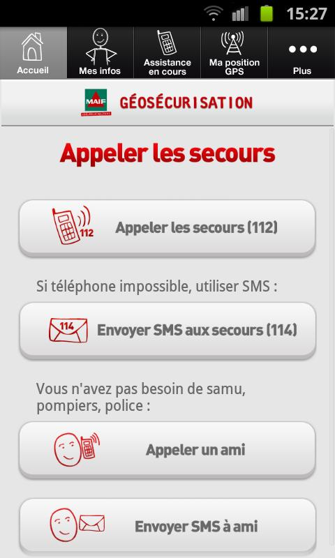 Géosécurisation- screenshot