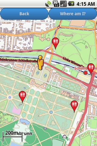 Vienna Amenities Map free