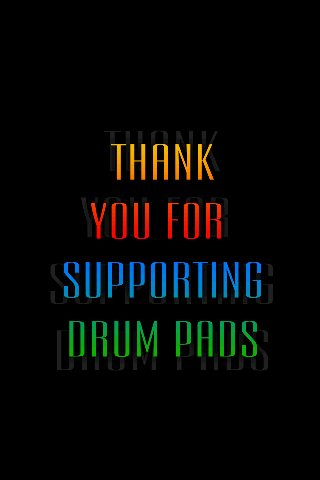 Drum Pads Donation - screenshot