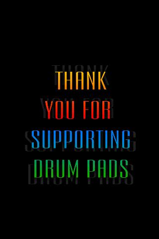 Drum Pads Donation - screenshot
