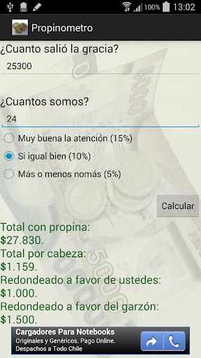 Propinometro Chile