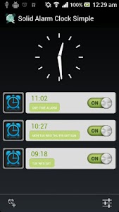 Simple & Reliable Alarm Clock screenshot 0