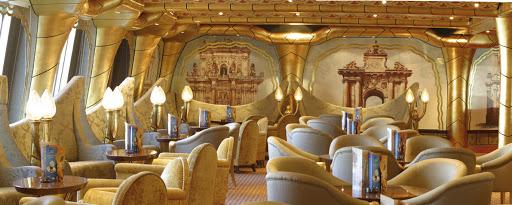 Costa-Magica-Salento-Grand-Bar - Costa Magica hosts 11 bars and lounges, including the Salento Grand Bar.