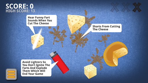 Cut The Cheese Fart Game
