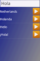 Screenshot of Brainload* Learn any language
