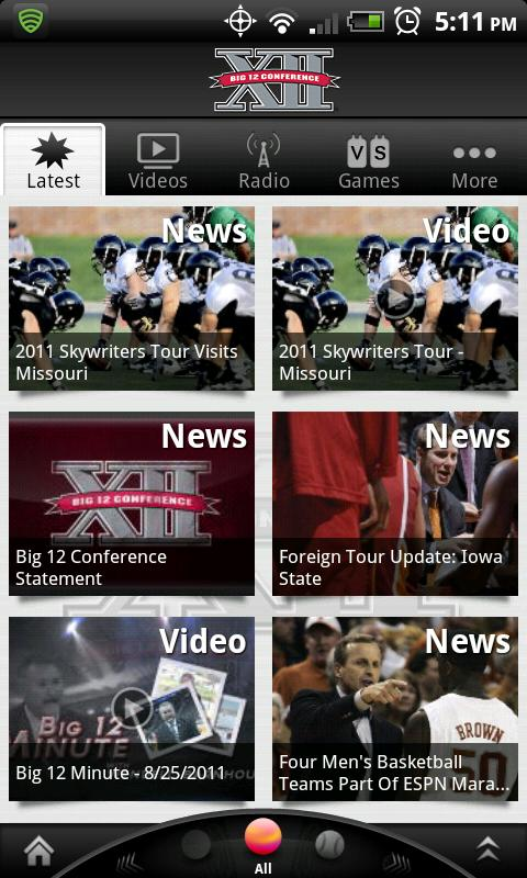 Big 12 Sports - screenshot