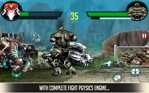 Clash of the Robots 3D- screenshot thumbnail