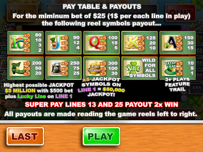 5 treasures slot machine app that pays you to walk