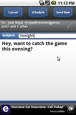 Message Delay - screenshot