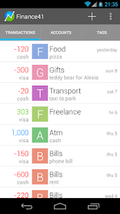 Finance41 - Expense Manager - screenshot thumbnail