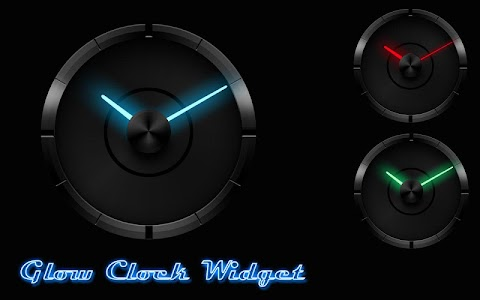 GlowSticks - Clock Widget v1.0