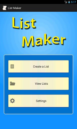 List Maker