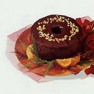 Chocolate-Orange Fruitcake with Pecans