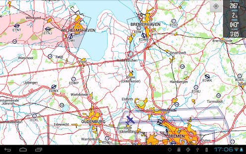 VFRnav Flugnavigation - screenshot thumbnail