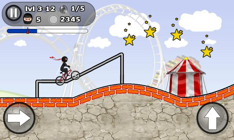 BMX STUNTS- screenshot